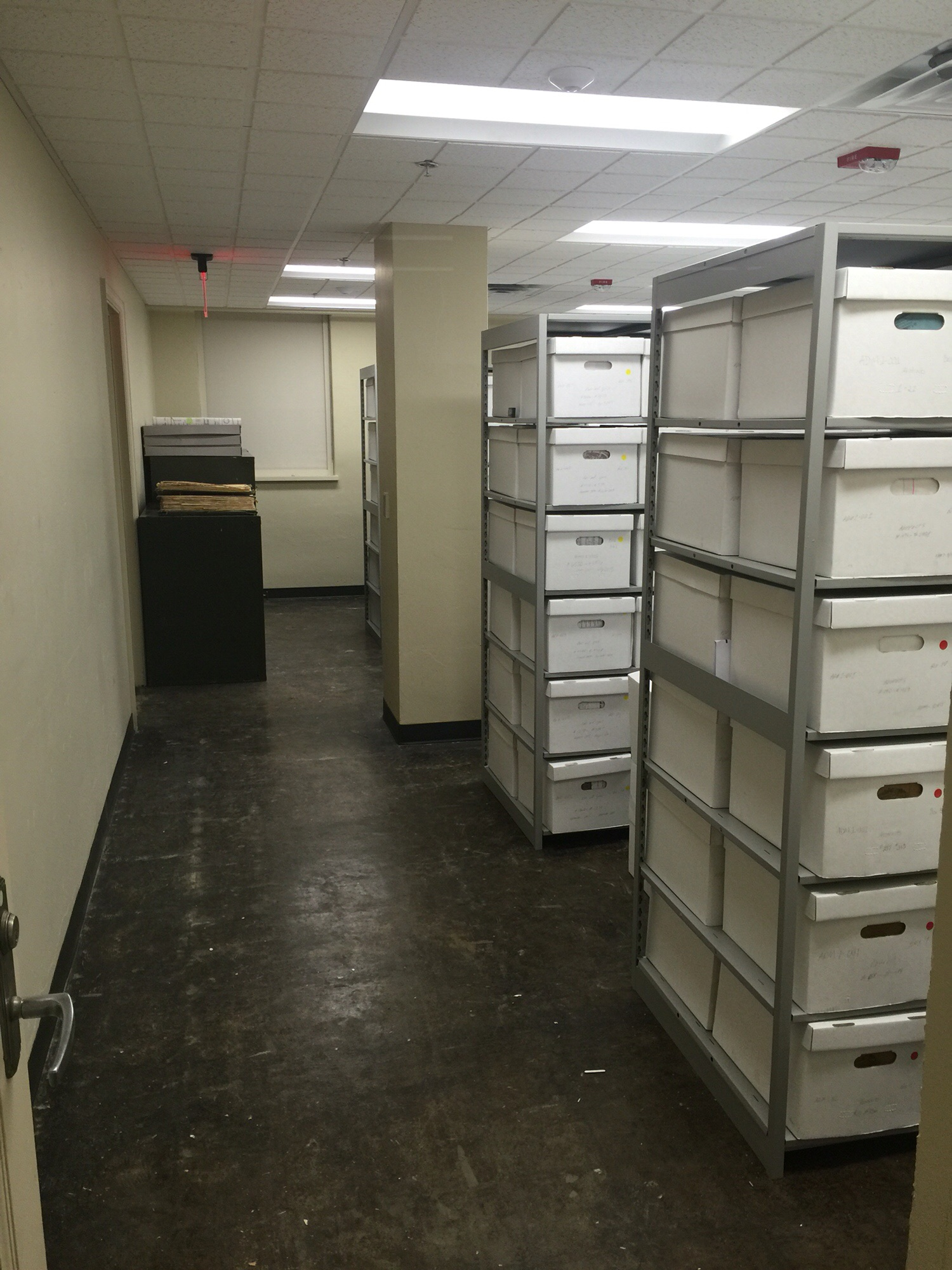 Office of Sustainability and City Clerk's Archival Storage