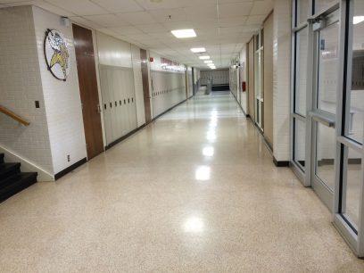 Hefner Middle School Renovations –  Corridor and Cafeteria