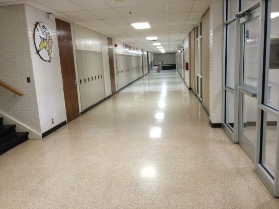 Hefner Middle School Renovations –  Corridor and Cafeteria