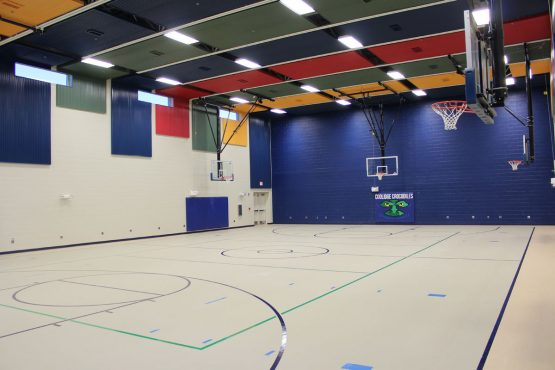 Classroom and Gymnasiums at Coolidge, Van Buren & Hayes Elementary Schools