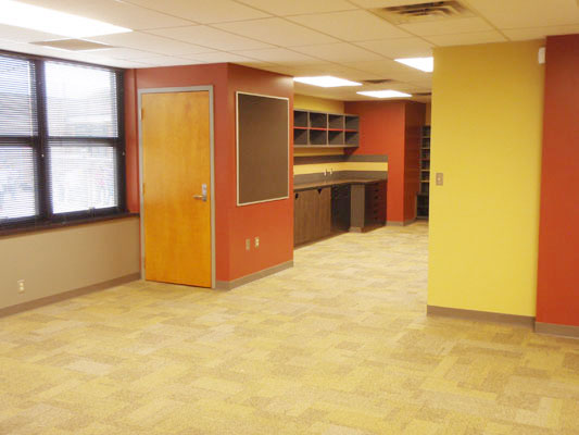 Highland Park Elementary – Teacher's Workroom Remodel (Oklahoma City, OK)